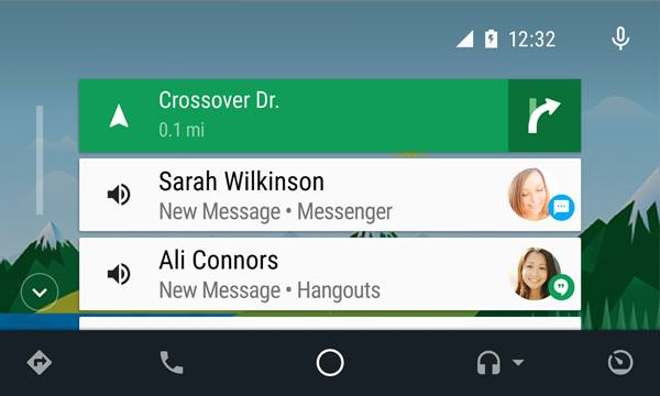 android-auto-direction